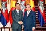 Thủ tướng Nguyễn Xuân Phúc cảm ơn Thủ tướng Hunsen đã trực tiếp chỉ đạo vấn đề người Campuchia gốc Việt