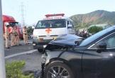 Va chạm kinh hoàng giữa xe cấp cứu và xe ô tô con, 5 người trọng thương