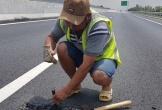'Trảm' nhà thầu vừa vá mặt đường cao tốc Đà Nẵng - Quảng Ngãi đã tái hỏng