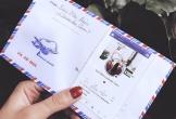 Độc đáo phong bì cưới in ảnh đại diện Facebook của nhóm bạn thân Hà Nội
