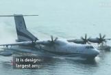 Trung Quốc ra mắt thủy phi cơ đổ bộ lớn nhất thế giới