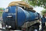Xe hút hầm cầu đổ nhớt thải thẳng xuống cống, bị phạt 383 triệu đồng