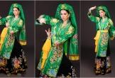 Hoa hậu Tiểu Vy múa chầu văn 'Cô đôi thượng ngàn' tại Miss World