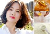 Thật không ngờ, đẳng cấp cỡ Song Hye Kyo cũng dùng trứng với mật ong làm mặt nạ dưỡng nhan tại nhà