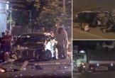 TNGT liên hoàn giữa 5 phương tiện, 3 người bị thương