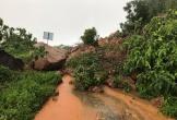 Mưa lớn gây sạt lở nghiêm trọng tại núi Sơn Trà