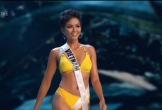 H'Hen Niê tự tin sải bước thi bikini ở bán kết Hoa hậu Hoàn vũ
