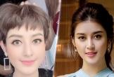 Á hậu Huyền My khác lạ với tóc tém