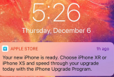 Apple nhắc người dùng iPhone đời cũ nâng cấp lên XS, XR