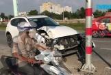 Mượn Mazda CX5 của anh trai đi chơi, giữa đường thì xe nát đầu