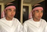 Đức Huy bất ngờ hóa thân thành Hoàng tử Ả rập khi vừa