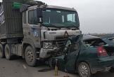 Đại úy Biên phòng tử nạn sau cú tông xe đầu kéo
