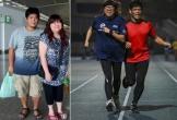 Cặp vợ chồng Hong Kong nặng hơn 2 tạ giảm 59 kg một năm