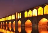 Đã mắt với cây cầu 33 cổng vòm, đẹp nhất Iran