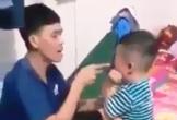 Kinh hoàng cảnh bé trai 3 tuổi bị thanh niên tát tới tấp vào mặt ở Tiền Giang