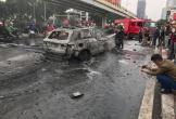 Nữ tài xế lái Mercedes gây tai nạn đã tới công an trình diện