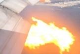 Boeing 777 cháy rực trên bầu trời Los Angeles
