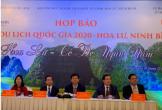 """Họp báo giới thiệu """"Năm Du lịch quốc gia 2020 - Hoa Lư, Ninh Bình"""""""