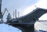 5 người bị thương khi tàu sân bay Nga bùng cháy