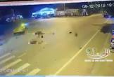 Clip: Tông vào công nông sang đường, nam thanh niên tử vong tại chỗ