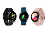 Smartwatch không viền xoay của Samsung có tên Watch Active