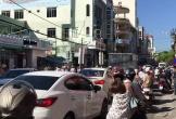 Đổ xô đi mua vàng ngày vía Thần tài khiến đường phố Đà Nẵng kẹt cứng