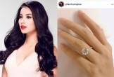 Khoe nhẫn kim cương dịp Valentine, Hoa hậu Phạm Hương xác nhận