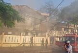 Đà Nẵng: Cháy tại nhà kho trường tiểu học Chi Lăng