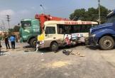 Tai nạn kinh hoàng trên Đại lộ Thăng Long, hai vợ chồng tử vong