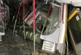 Tàu điện đâm nhau tại Hồng Kông