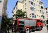Cháy lớn tại căn hộ tầng 5 chung cư