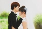 Tinh thần lạc quan của nữ họa sĩ trẻ vừa lấy chồng đã nhận