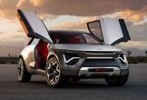 Độc đáo mẫu concept crossover chạy điện, cửa cánh chim