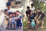 Bức ảnh 15 năm tình anh em của hội bạn Sóc Trăng khiến dân mạng xúc động