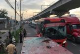 Xe Phương Trang tông vào rơ-mooc, phụ xe khách tử vong