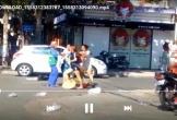 Xôn xao clip nữ lao công bị chủ shop thời trang chửi bới, đánh tới tấp vì bị nhắc nhở