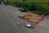 Cố vượt xe container thì ngã ra đường, người đàn ông bị cán tử vong