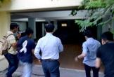 Cảnh Nguyễn Hữu Linh chạy trốn ống kính phóng viên