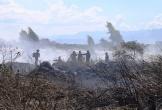 Lại xuất hiện cháy lớn tại bán đảo Sơn Trà