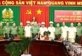 Nhiều cán bộ công an được điều động, bổ nhiệm tại các tỉnh Tây Nam Bộ
