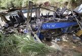 Xe chở học sinh tiểu học Philippines rơi xuống khe núi, 11 người chết