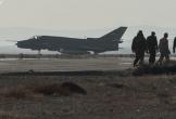 Máy bay ném bom Su-22 của Không quân Syria bị phiến quân bắn hạ