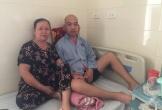 Nhói lòng cảnh bố chưa kịp nhìn con chào đời đã bị liệt vì ung thư não