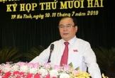 Thi hành kỷ luật Chủ tịch HĐND TP.Hà Tĩnh vì một số vi phạm