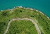 Đèo dốc quanh co lên bán đảo Sơn Trà nhìn từ flycam