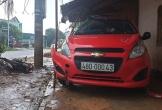Cán bộ công an gây tai nạn, một công nhân nguy kịch
