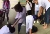 Nữ sinh đánh bạn 'không trượt phát nào' khiến dân mạng dựng tóc gáy