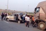 Lý do hoãn phiên tòa vụ container đâm Innova đi lùi trên cao tốc Thái Nguyên?