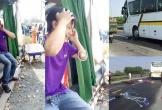 Cặp vợ chồng tử vong sau va chạm với xe khách, tài xế 'vò đầu bứt tai' bật khóc nức nở