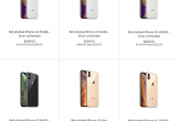 Apple bán iPhone XS, XS Max tân trang